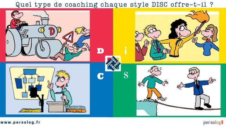 Quel type de coaching chaque style DISC offre-t-il ?